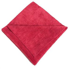 """<font color=""""ff0000"""">BUY ONE - GET ONE FREE -</font> 16x16 Red Edgeless Terry Towel 300gsm"""