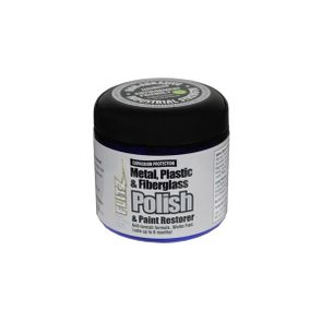 Flitz Paste Metal Polish, Fiberglass & Paint Restorer 1lb. Can