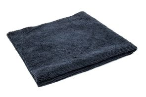 "<font color=""red"">Free Gift on Orders over $100</font> 3 Pack 16x16 Black Edgeless Terry Microfiber Towels"