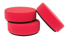 Griot's Garage 3 inch Mini Red Wax Pads – 3 Pack