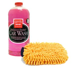 Griots Garage Brilliant Finish Car Wash Bundle