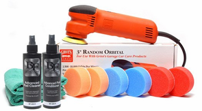 "Griots Garage 3 Inch Orbital Polisher Kit <font color=""ff0000""> HD Model </font>"