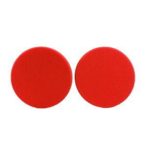 Griots Garage 6.5 inch Red Foam Waxing Pad - 2 Pack