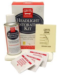 Griot's Garage Headlight Restoration Kit