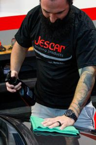"""Jescar Finishing Products Shirt - <font color=""""ff0000"""">Free With Orders Containing $50 Of Jescar Products</font>"""