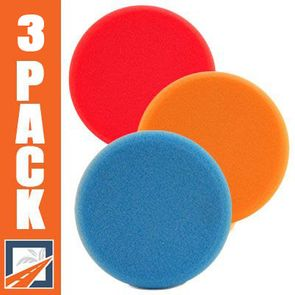 Lake Country Hydro-Tech 6.5 Inch Foam Pads 3 Pack - You Pick!
