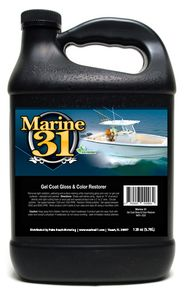 Marine 31 Gel Coat Gloss & Color Restorer 128 oz.