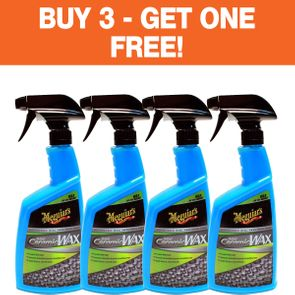 "Meguiar's Hybrid Ceramic Wax <font color=""ff0000""> Buy 3 - Get One FREE! </font>"