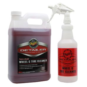 Meguiar's Non-Acid Wheel & Tire Cleaner Bundle