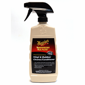 Meguiars Mirror Glaze #40 Vinyl & Rubber Cleaner / Conditioner