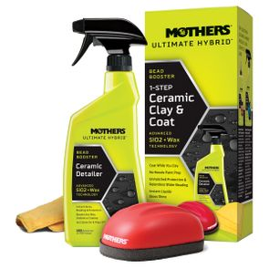 Mothers Ultimate Hybrid 1-Step Ceramic Clay & Coat