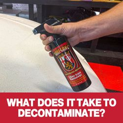 What Does It Take to Decontaminate?