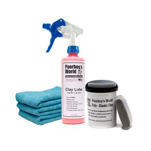Poorboy's World Clay & Lube Combo