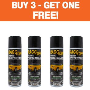 """RAGGTOPP Fabric Convertible Top Protectant <font color=""""ff0000""""> Buy 3 - GET ONE FREE! </font>"""