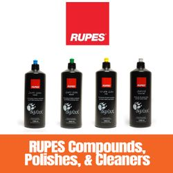 RUPES Compounds, Polishes, and Cleaners