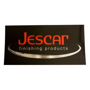 """Jescar Finishing Products Decal - <font color=""""ff0000"""">Free With Orders Containing $25 Of Jescar Products</font>"""