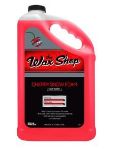 Wax Shop Cherry Snow Foam Car Wash - 128 oz.