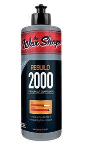 Wax Shop Rebuild 2000 Medium Cut Compound - 32 oz.