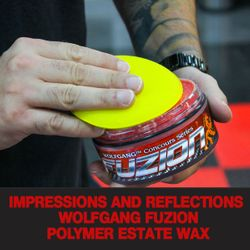 Impressions and Reflections of Wolfgang Fuzion Polymer Estate Wax