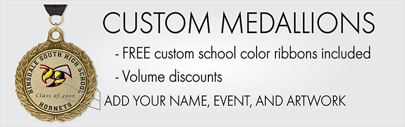 Custom Medallions - Add Your Name, Event, and Artwork. Shop Medallions.