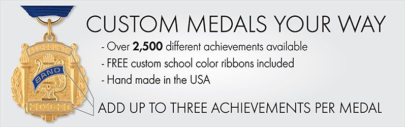 Custom Medals Your Way. Shop Medals.