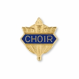 No. 1 Choir Pin