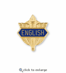 No. 1 English & Language Arts Pin