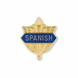 No. 1 Foreign Language Pin