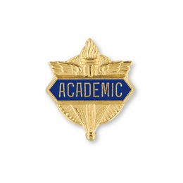 No. 1 General Academics Pin