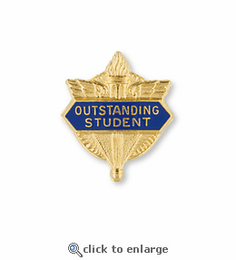 No. 1 General Exceptional Achievement Pin