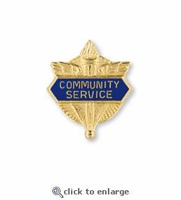 No. 1 Service Related Pin