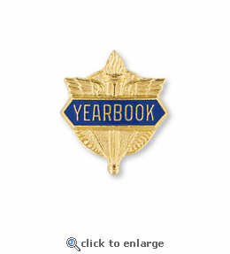 No. 1 Yearbook Pin