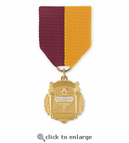No. 10-1 Religion 1 Title Medal