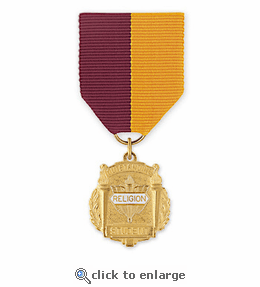 No. 10-1 Religion 3 Title Medal