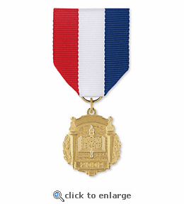 No. 10-145 Library Club 2 Title Medal