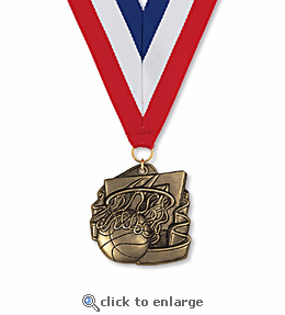 No. 10332 Basketball Classic Medallion