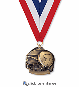 No. 10342 Volleyball Classic Medallion