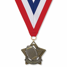 No. 10407 Football Star Medallion