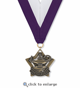 No. 10409 Lamp of Knowledge Star Medallion
