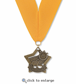 No. 10413 Swimming Star Medallion
