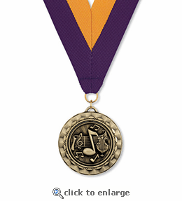 No. 10432 Music Spinner Medallion