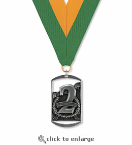 No. 10441 2nd Place Dog Tag Medallion