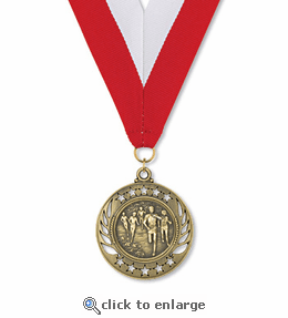 No. 10465 Cross Country Galaxy Medallion
