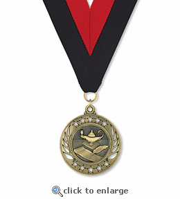 No. 10469 Lamp of Knowledge Galaxy Medallion