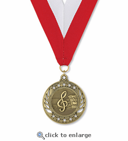 No. 10470 Music Galaxy Medallion