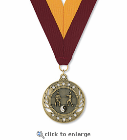 No. 10471 Martial Arts Galaxy Medallion