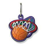 No. 10503 Basketball ColorFlex Zipper Pull