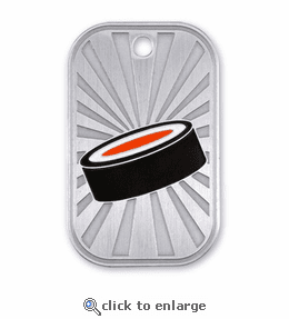 No. 10564 Hockey Dog Tag