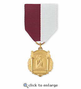 No. 15 Religion 1 Title Medal