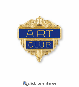 No. 200 Drama Club Pin